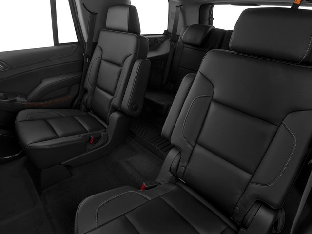 2015 Chevrolet Tahoe Prices and Values Utility 4D LTZ 2WD V8 backseat interior