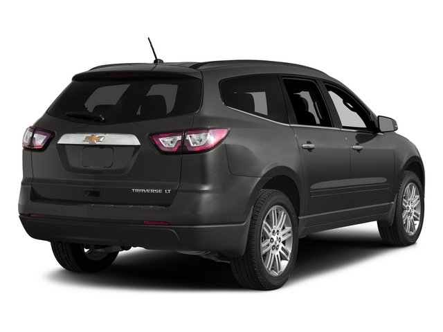 2015 Chevrolet Traverse Pictures Traverse Utility 4D LS AWD V6 photos side rear view