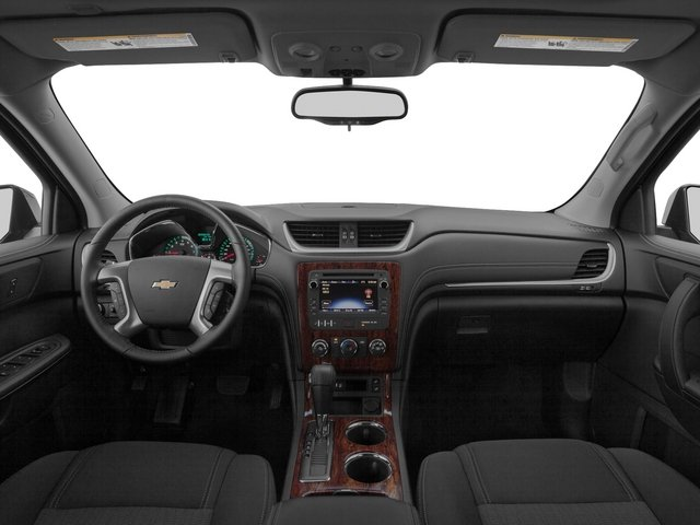 2015 Chevrolet Traverse Pictures Traverse Utility 4D LS AWD V6 photos full dashboard