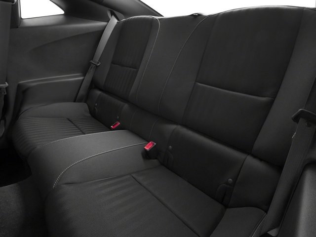2015 Chevrolet Camaro Prices and Values Coupe 2D Z28 V8 backseat interior