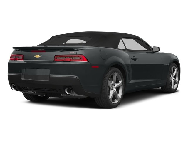 2015 Chevrolet Camaro Prices and Values Convertible 2D SS V8 side rear view