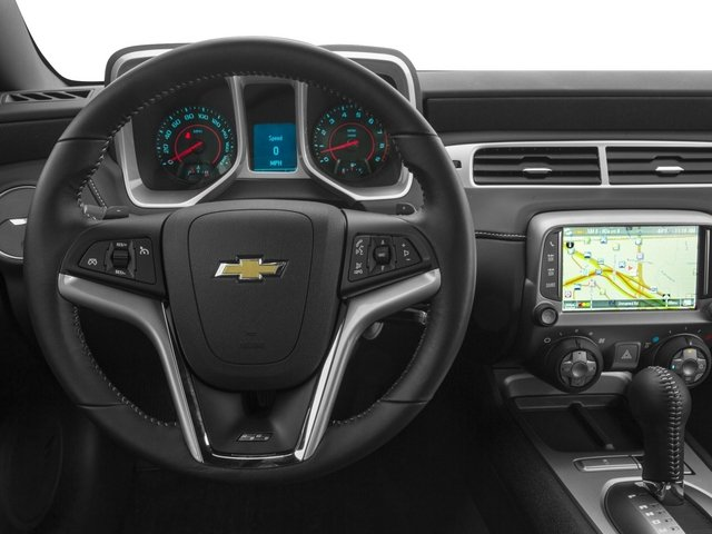 2015 Chevrolet Camaro Prices and Values Convertible 2D SS V8 driver's dashboard