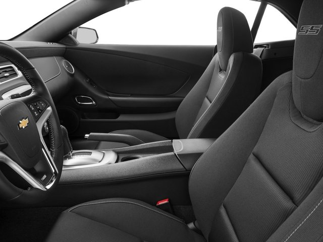 2015 Chevrolet Camaro Prices and Values Convertible 2D SS V8 front seat interior