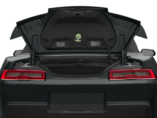 2015 Chevrolet Camaro Prices and Values Convertible 2D 2SS V8 open trunk