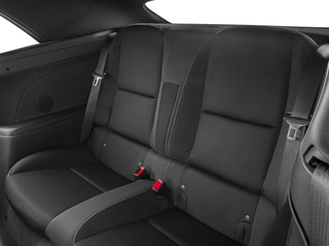 2015 Chevrolet Camaro Prices and Values Convertible 2D 2SS V8 backseat interior