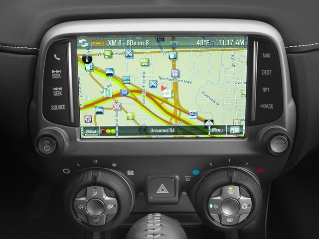 2015 Chevrolet Camaro Prices and Values Convertible 2D SS V8 navigation system
