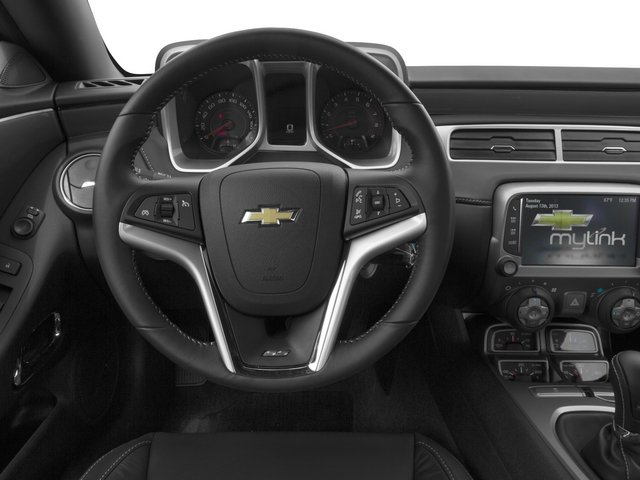 2015 Chevrolet Camaro Prices and Values Coupe 2D 2SS V8 driver's dashboard