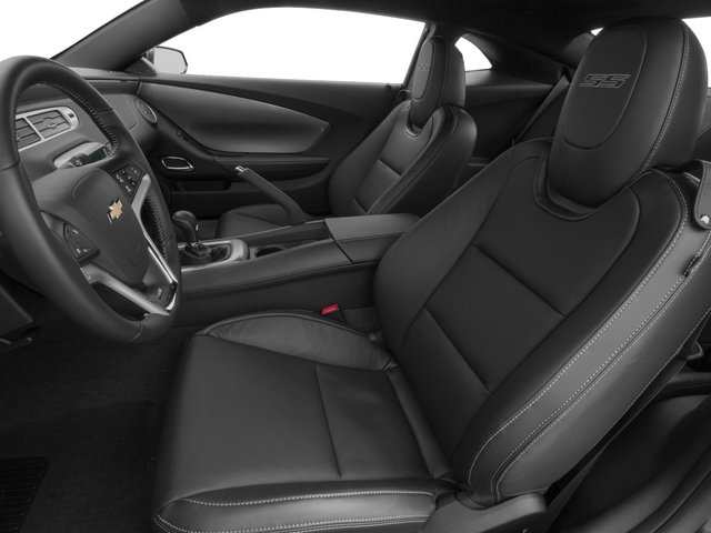 2015 Chevrolet Camaro Prices and Values Coupe 2D 2SS V8 front seat interior