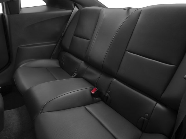 2015 Chevrolet Camaro Prices and Values Coupe 2D 2SS V8 backseat interior