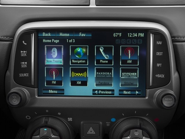 2015 Chevrolet Camaro Prices and Values Coupe 2D 2SS V8 navigation system