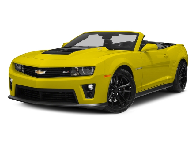 2015 Chevrolet Camaro Prices and Values Convertible 2D ZL1 V8 side front view