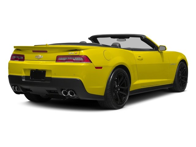 2015 Chevrolet Camaro Prices and Values Convertible 2D ZL1 V8 side rear view