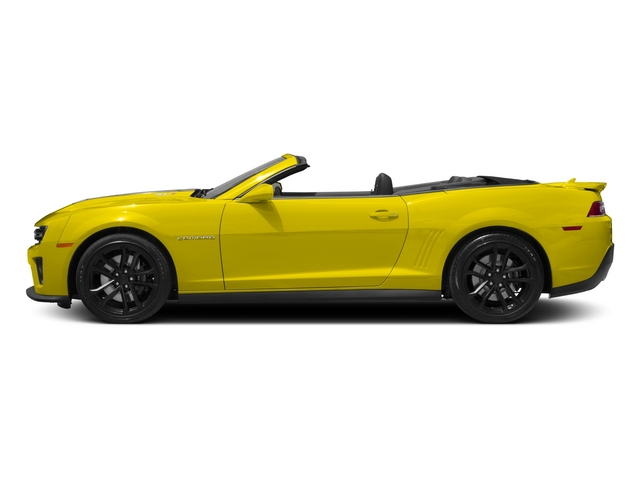 2015 Chevrolet Camaro Prices and Values Convertible 2D ZL1 V8 side view