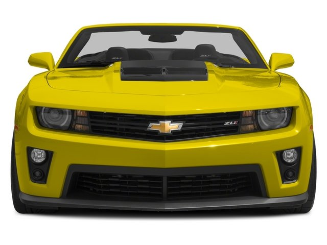 2015 Chevrolet Camaro Prices and Values Convertible 2D ZL1 V8 front view