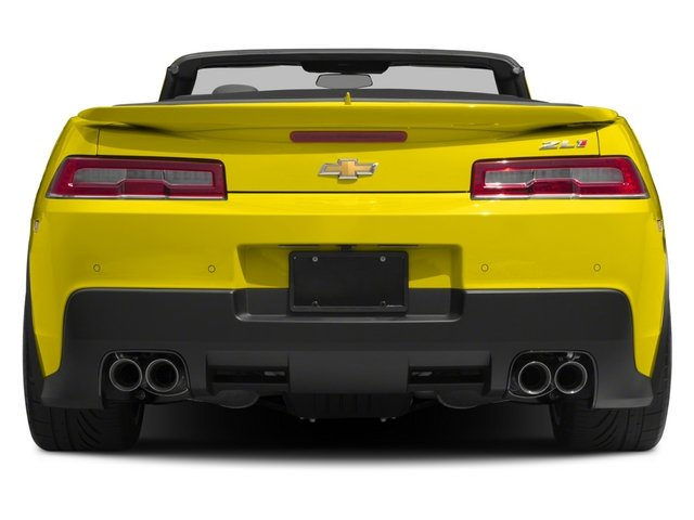 2015 Chevrolet Camaro Prices and Values Convertible 2D ZL1 V8 rear view