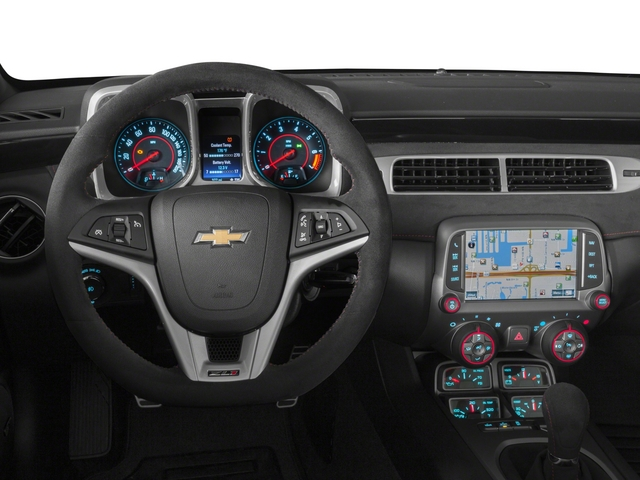 2015 Chevrolet Camaro Prices and Values Convertible 2D ZL1 V8 driver's dashboard