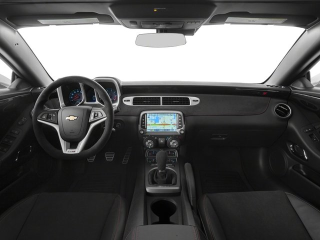 2015 Chevrolet Camaro Prices and Values Convertible 2D ZL1 V8 full dashboard