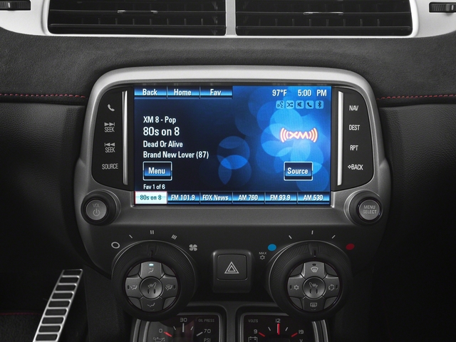 2015 Chevrolet Camaro Prices and Values Convertible 2D ZL1 V8 stereo system