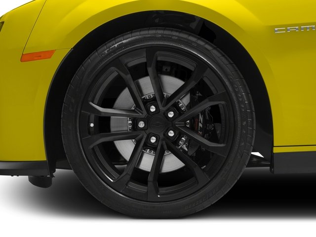 2015 Chevrolet Camaro Prices and Values Convertible 2D ZL1 V8 wheel