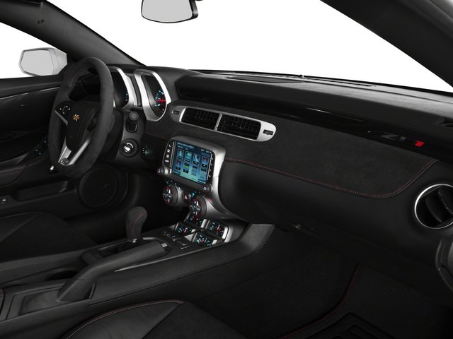 2015 Chevrolet Camaro Prices and Values Convertible 2D ZL1 V8 passenger's dashboard