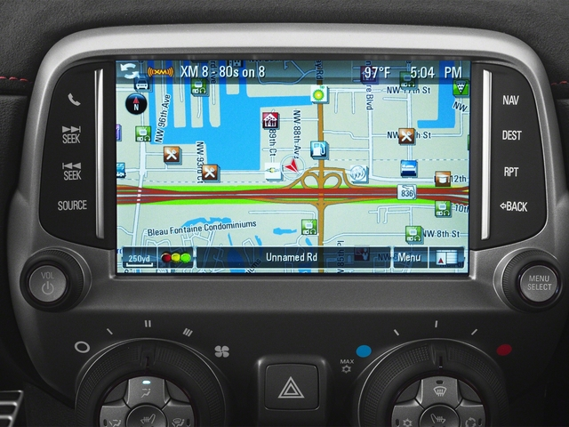 2015 Chevrolet Camaro Prices and Values Convertible 2D ZL1 V8 navigation system