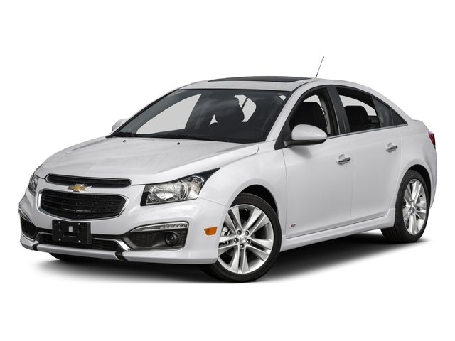 2015 Chevrolet Cruze Prices and Values Sedan 4D LS I4 side front view