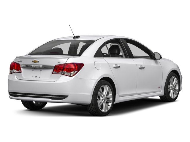 2015 Chevrolet Cruze Prices and Values Sedan 4D LS I4 side rear view
