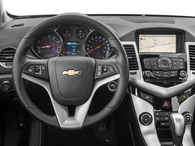 2015 Chevrolet Cruze Prices and Values Sedan 4D LS I4 driver's dashboard