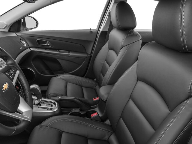 2015 Chevrolet Cruze Prices and Values Sedan 4D LS I4 front seat interior