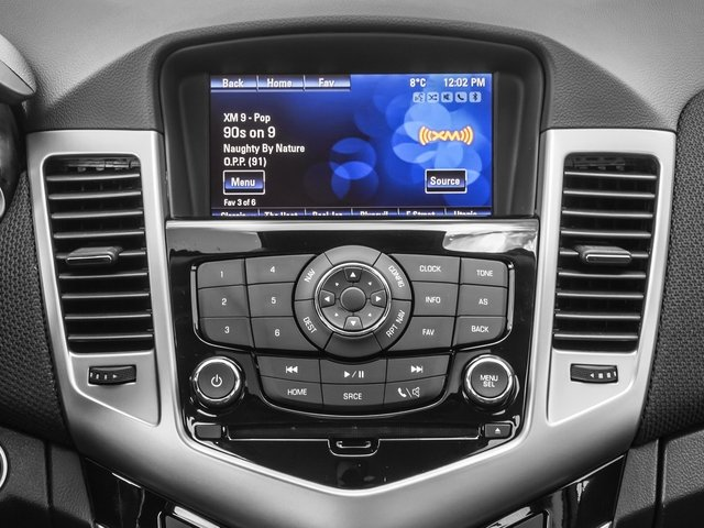 2015 Chevrolet Cruze Prices and Values Sedan 4D LS I4 stereo system