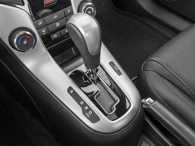 2015 Chevrolet Cruze Prices and Values Sedan 4D LS I4 center console