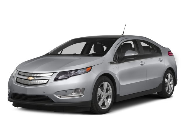2015 Chevrolet Volt Pictures Volt Sedan 4D Premium I4 Electric photos side front view