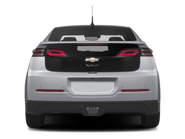 2015 Chevrolet Volt Pictures Volt Sedan 4D Premium I4 Electric photos rear view