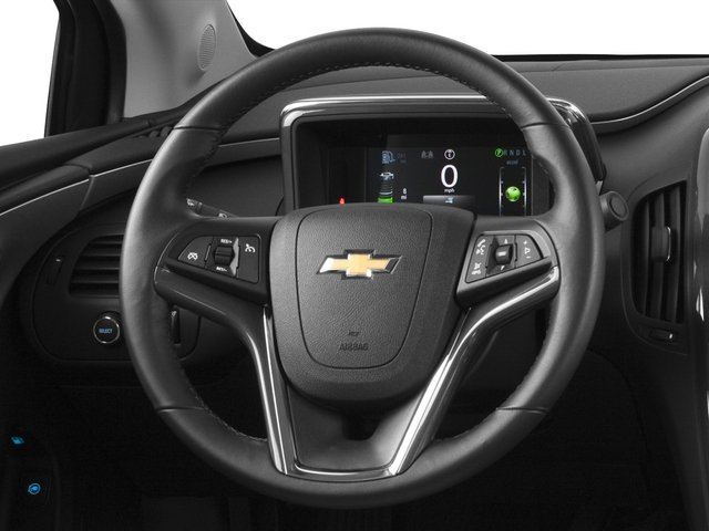 2015 Chevrolet Volt Pictures Volt Sedan 4D Premium I4 Electric photos driver's dashboard