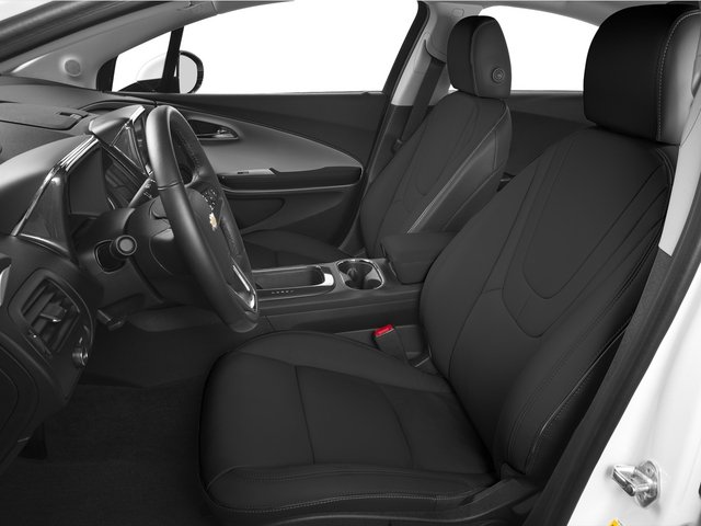 2015 Chevrolet Volt Pictures Volt Sedan 4D Premium I4 Electric photos front seat interior