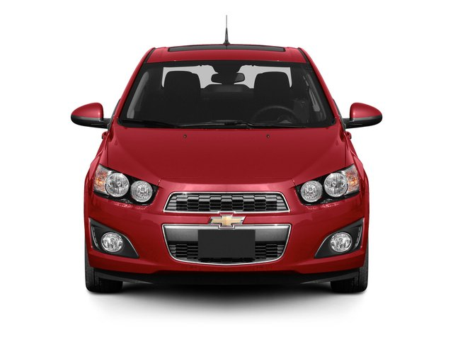 2015 Chevrolet Sonic Prices and Values Sedan 4D LS I4 front view