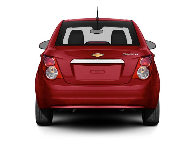 2015 Chevrolet Sonic Prices and Values Sedan 4D LS I4 rear view