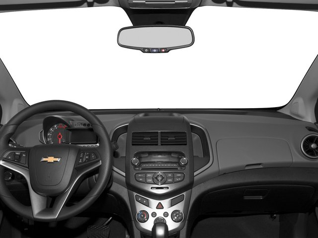 2015 Chevrolet Sonic Prices and Values Sedan 4D LS I4 full dashboard
