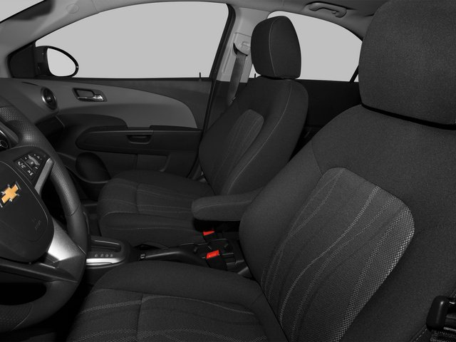 2015 Chevrolet Sonic Prices and Values Sedan 4D LS I4 front seat interior