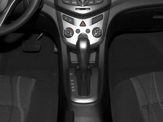 2015 Chevrolet Sonic Prices and Values Sedan 4D LS I4 center console