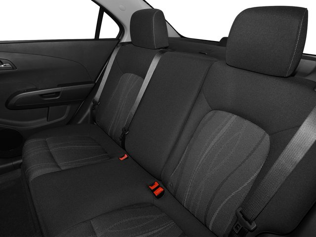 2015 Chevrolet Sonic Prices and Values Sedan 4D LS I4 backseat interior