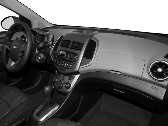 2015 Chevrolet Sonic Prices and Values Sedan 4D LS I4 passenger's dashboard