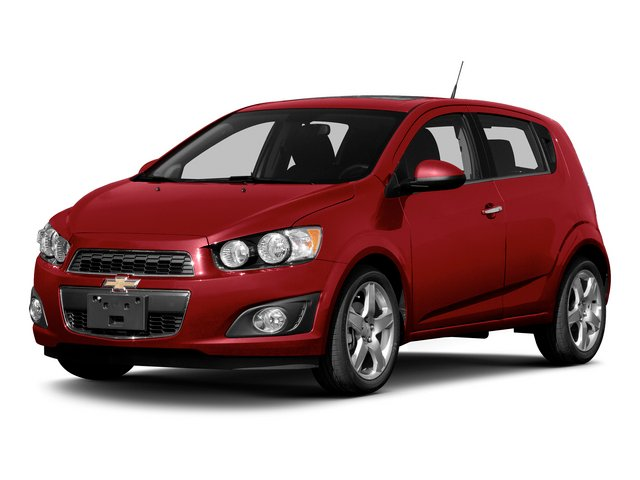 2015 Chevrolet Sonic Prices and Values Hatchback 5D LS I4 side front view