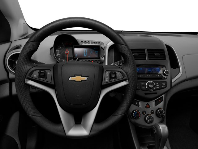 2015 Chevrolet Sonic Prices and Values Hatchback 5D LS I4 driver's dashboard
