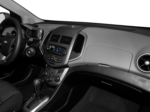 2015 Chevrolet Sonic Prices and Values Hatchback 5D LS I4 passenger's dashboard