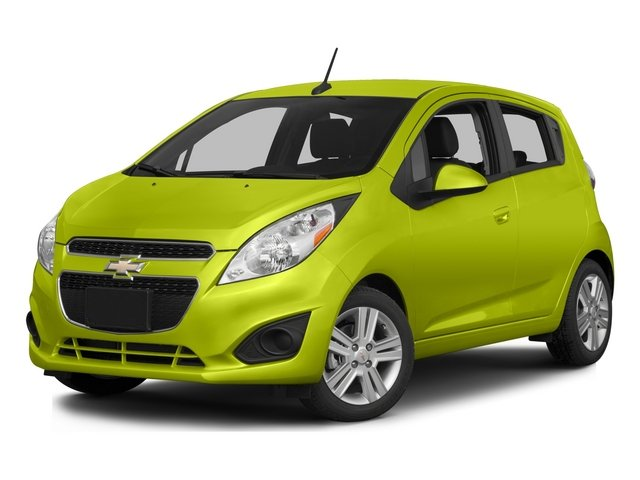 2015 Chevrolet Spark Prices and Values Hatchback 5D 2LT I4 side front view