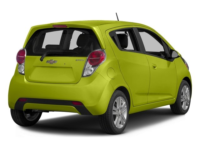 2015 Chevrolet Spark Prices and Values Hatchback 5D 2LT I4 side rear view