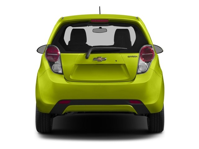 2015 Chevrolet Spark Prices and Values Hatchback 5D 2LT I4 rear view