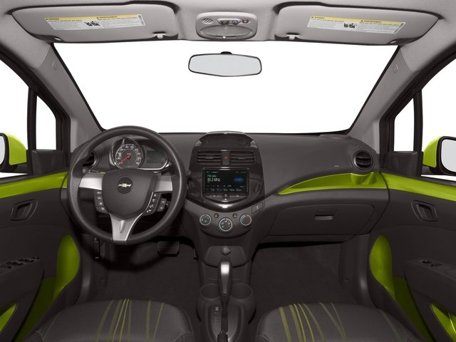 2015 Chevrolet Spark Prices and Values Hatchback 5D 2LT I4 full dashboard