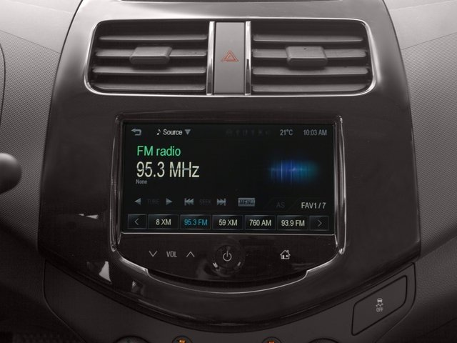 2015 Chevrolet Spark Prices and Values Hatchback 5D 2LT I4 stereo system